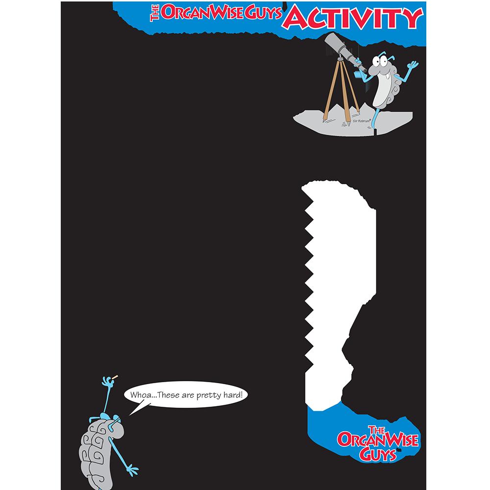 Energy Balance for Kids Activity Sheet - OrganWise Guys