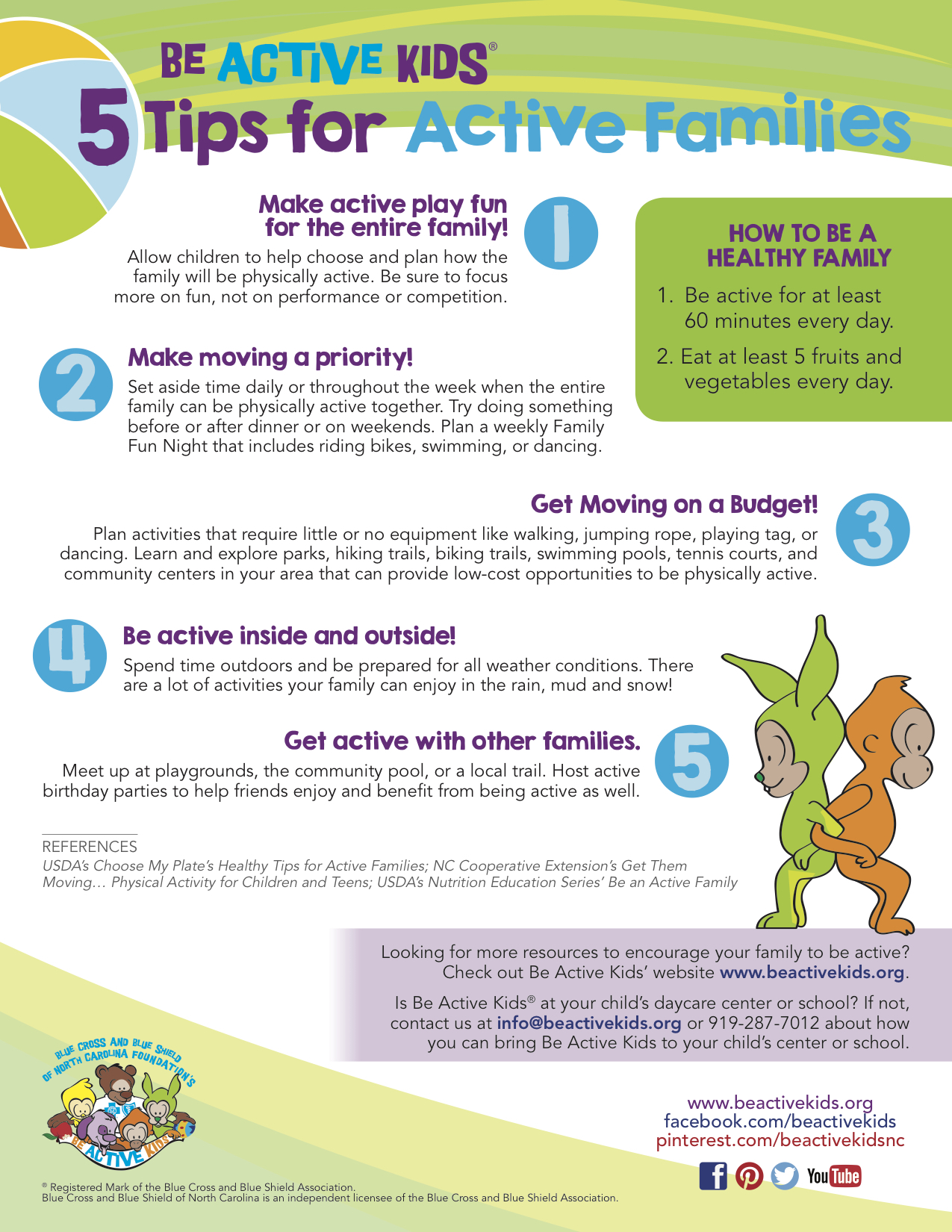 Be Active Kids - 5 Tips Active Families